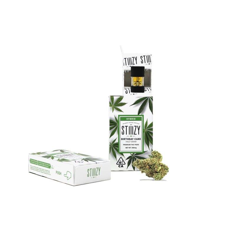 STIIIZY -Birthday Cake Premium THC Pod