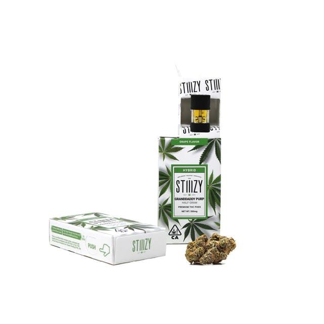 STIIIZY -Granddaddy Purp Premium THC Pod