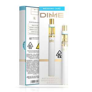 DIME 500mg Disposable – Wedding Cake