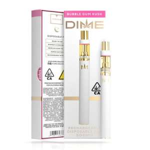 DIME 500mg Disposable – Bubble Gum Kush