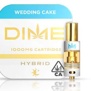DIME 1000mg Cartridge – Wedding Cake