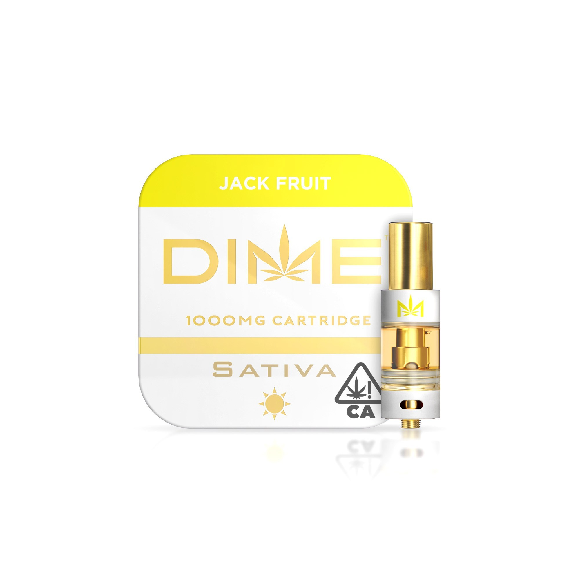 DIME 1000mg Cartridge – Jack Fruit