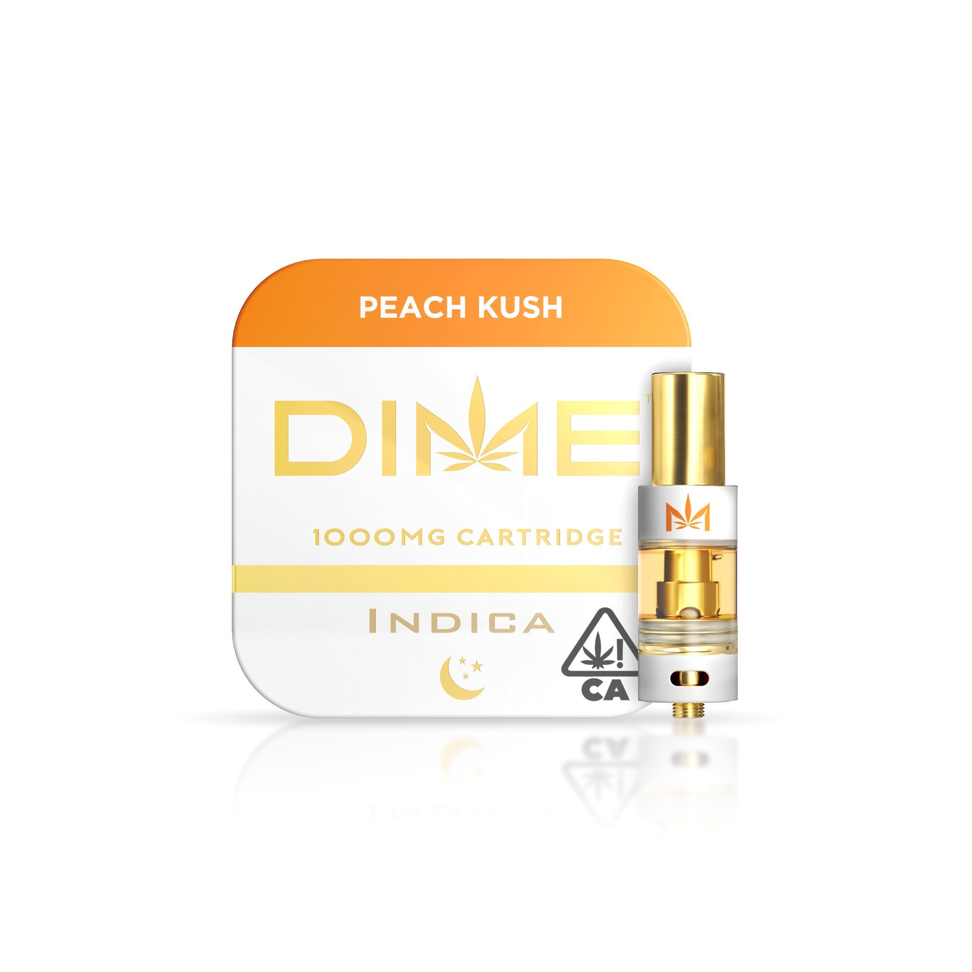 DIME 1000mg Cartridge – Peach Kush