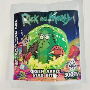 R&M – Green Apple Star Bites 300mg