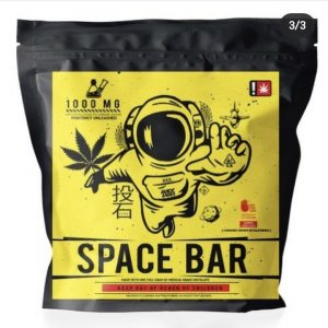 Black Label Space Bar Brownie – 1000mg