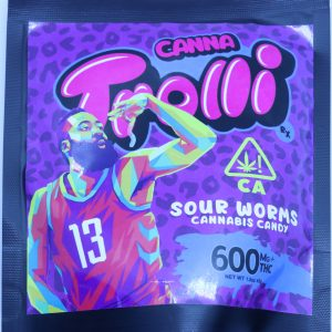 Mabel & Co. – Trolli Sour Worms 600mg