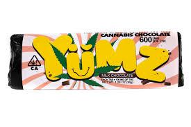YUMZ Milk Chocolate Bar –  600mg