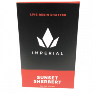 IMPERIAL Nug Run Shatter – Sunset Sherbert
