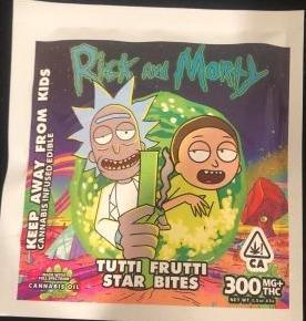 R&M – Tutti Frutti Star Bites 300mg